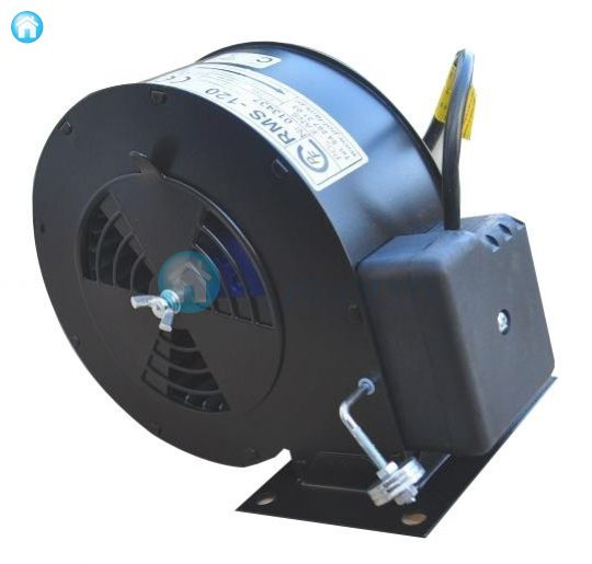Boiler blower, radial fan for storage heater RMS